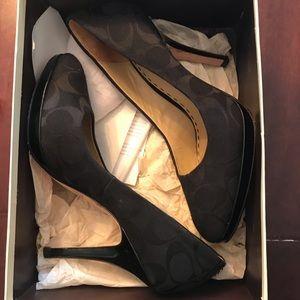 Woman's Coach heels